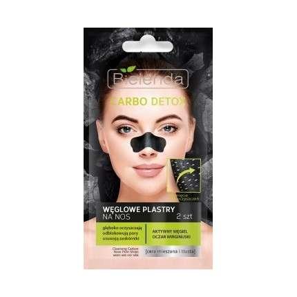 bielenda węglowe plastry na nos