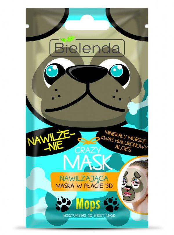 bielenda maseczka nawilżająca crazy mask