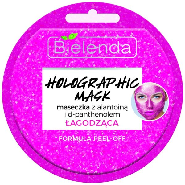 holographic mask maseczka łagodząca