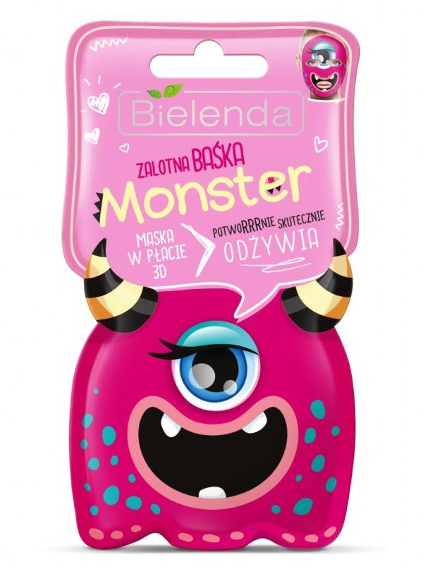 bielenda monster zalotna baśka odżywia