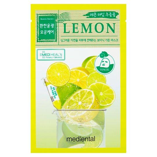 maseczka wygładzając liftingująca mediental lemon