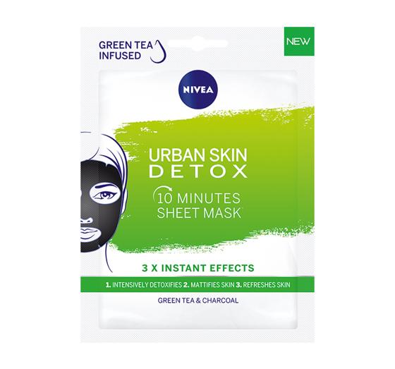 głęboko oczyszczająca maseczka nivea urban detox skin