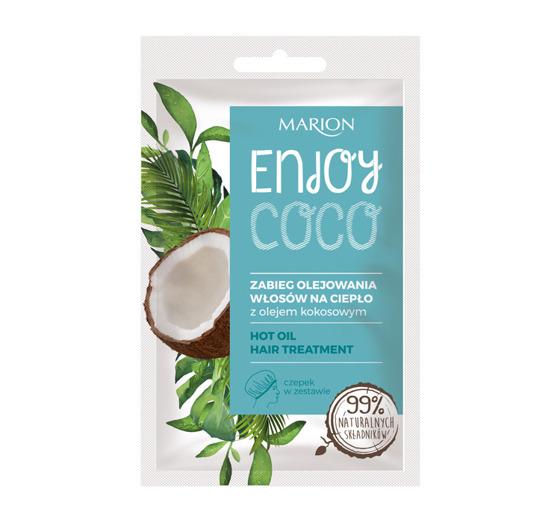 Kokosowy zabieg olejowania do włosów - Marion enjoy coco