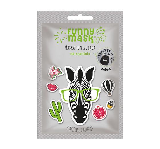 Marion funny maska zebra