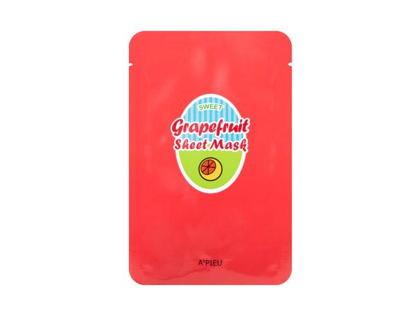 maseczka w płacie z grejpfruta A'pieu sweet grapefruit sheet mask