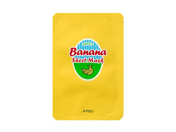 Maseczka w bawełnianej płachcie - A'pieu sweet banana & honey sheet mask