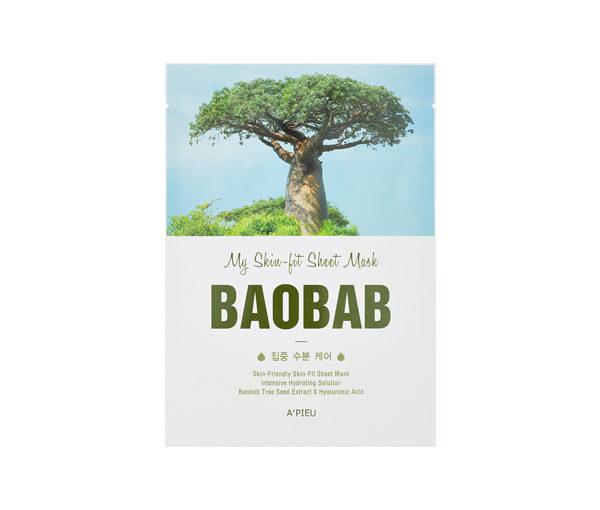 maseczka na bazie ekstraktu z baobabu A'pieu baobab sheet mask