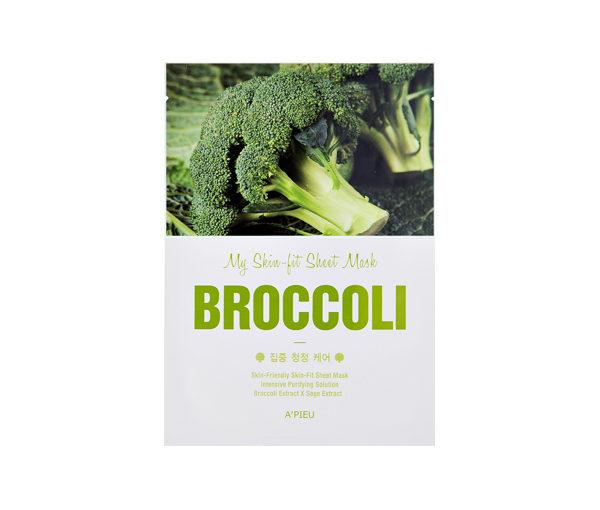 maseczka z brokułów A'pieu broccoli sheet mask