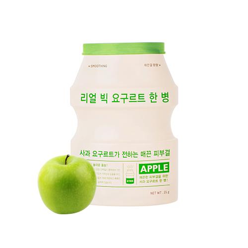 jogurtowa maseczka a'pieu real big yogurt one bottle apple