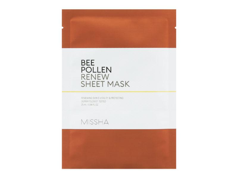 Regenerująca maseczka Bee pollen renew sheet mask