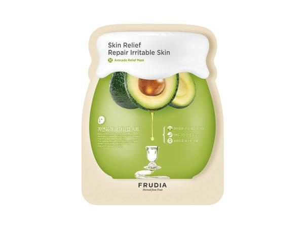 regenerująca maseczka z awokado - fruida avocado relief mask