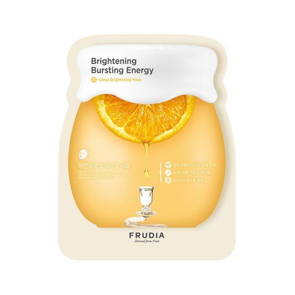rozjaśniająca maseczka w płachcie - fruida citrus brightening mask