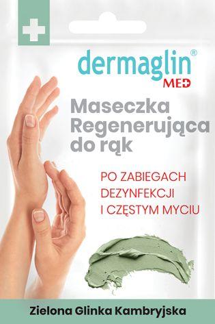 dermaglin regenerująca maseczka do dłoni
