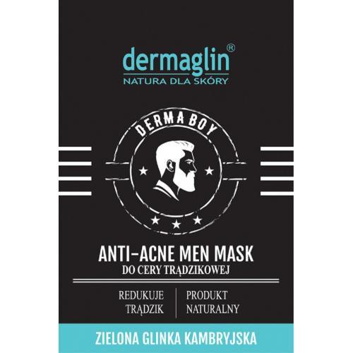 maska przeciwtrądzikowa dla mężczyzn