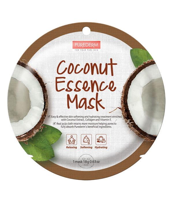 purederm maseczka kolagenowa z kokosem