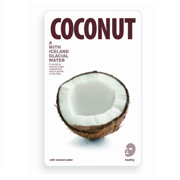 maseczka woda lodowcowa z kokosem