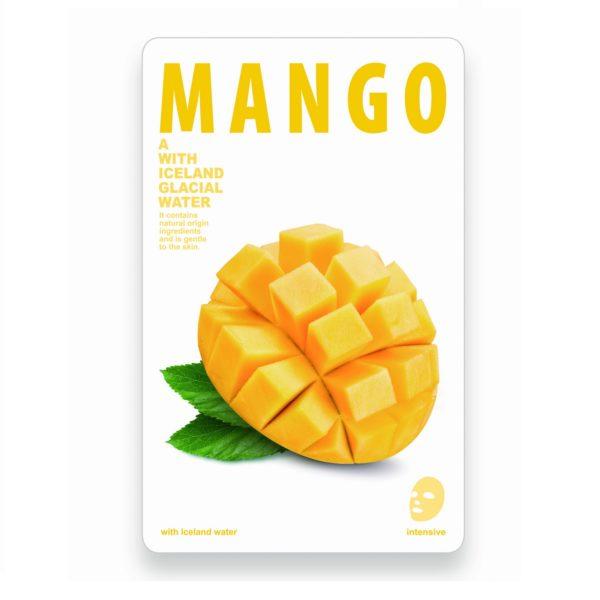 maseczka woda lodowcowa z mango