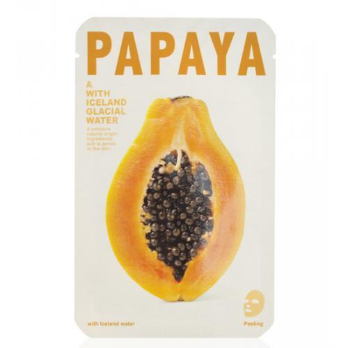 maseczka woda lodowcowa z papają