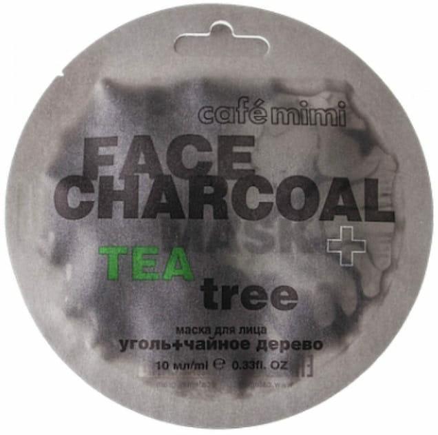 cafe mimi maseczka z węglem bambusowym i drzewem herbacianym