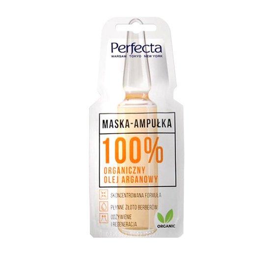 maska ampułka olej arganowy
