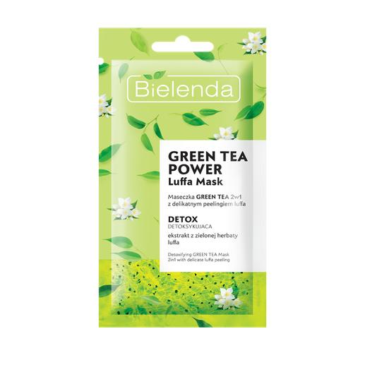 bielenda maseczka green tea power