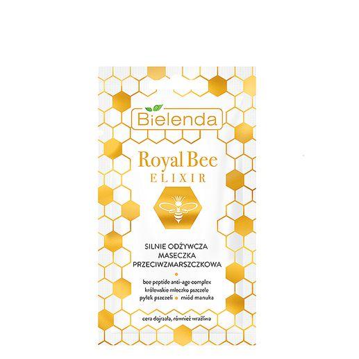 bielenda maseczka do cery dojrzałej Royal Bee Elixir